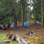 Campground in der Nähe von Seward/Alaska