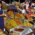 Auf dem Markt von Arequipa ist das Angabot reichhaltig.