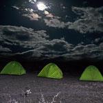 Nachtlager im Simien-Gebirge.