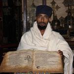 Die Religion hat in Äthiopien einen hohen Stellenwert. Tetrapsalter aus dem 12.JH