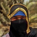 Junge Beduinenfrau bei Elim.