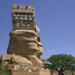 Felsenpalast im Wadi Dhar.