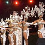 "In Santiago de Cuba wird im ""Tropikana"" eine exzellente Show geboten."