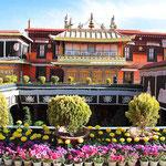 Der Jokhang - Tempel in Lhasa.