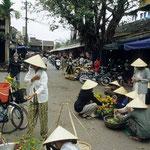 Der Markt von Hoi An.
