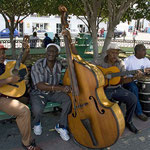 Straßenmusiker findet man überall in Kuba.