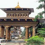 Das Tor zu Bhutan.