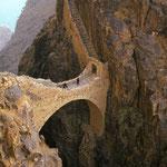 400 Jahre alte Steinbrücke bei Shaharah.