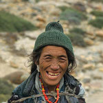 Gezeichnet vom harten Leben in Zanskar.