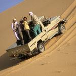 In den Dünen in der Großen Arabischen Wüste Rub al Khali.