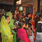 Hochzeitszug in Udeipur.