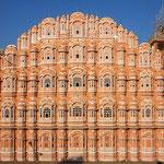 """Der """"Palast der Winde"""" in Jaipur ist nur eine Fassade."""