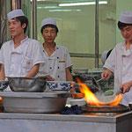 Straßenküche in Xi'ning.
