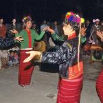 Bei den traditionellen Shan-Tänzen sind die Handbewegungen der Tänzerinnen von besonderer Bedeutung.