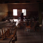 Saal vor dem Umbau