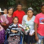彼女の家族と昭子さん、マリア・ルース、マベル