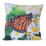 Kissenbezug Schmetterling, Dekokissen, CMS