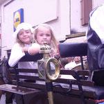 Clara et Margaux, mes petites nièces