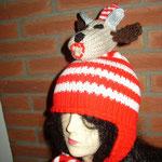 rot-weiße Mütze mit Geißbock (out)