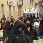 Il vento era sferzante. In tutta Italia abbiamo avuto la neve. I telegiornali ne hanno parlato in lungo e in largo.