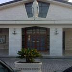 """Il sagrato del Santuario di """"Santa Maria Madre della Chiesa"""" - (Jaddico)"""