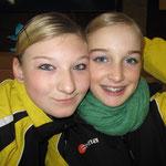 Sarah und Jana - und dann verließen sie uns :-(