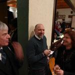 Norbert, Eckhard und Claudia