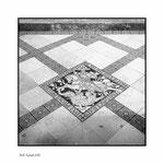 Bodenbild in der Heilig-Kreuz-Kirche