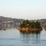 Insel vor Stockholm