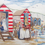 Ladies Bathing huts