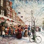 Christmas eve, Lord street, 1907