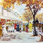Autumn on Lord street 1907