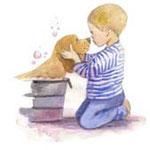 doggy bath tub