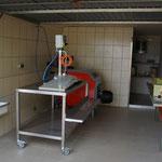 Abfüllanlage mit Pasteurisierautomaten