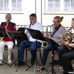 Die Youngsters - man sieht's - Saxophonquartett aus Weilburg