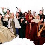 Ensemble Violetta & Lilia caeli | Photo: Allsvartur.de