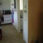 An die Küche schließt sich der Hauswirtschaftsraum an