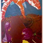 Hummertor, 2018, Acryl auf Leinwand, 130x 200cm
