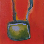 no title, 2021, acrylic paint on canvas, 17 x19 cm