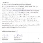 Es schreibt die Bundesvereinigung Kabarett am 16.11.2010