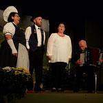 Jodlerabig - Terzett Nicole, Rita und Wisi, Begleitung: Peter Achermann