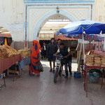 Une des entrées du marché de Sidi Ifni