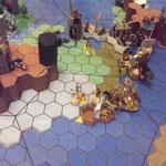 Angriff der Invasoren aus Tyrannos auf Lossbardor ...