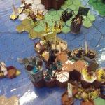 Die Krieger aus Tyrannos sind weiter auf dem Vormarsch und (noch) guter Dinge
