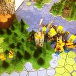 Angriff von Athryll Fellin auf die Stadt Fu Shad