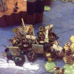 Die Flotte von Kartazda erstreitet sich einen Sieg gegen eine Übermacht