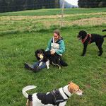Baffy, George und Tosca