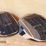 深いデニムのポケットハンチング (14-au-05-hunt)