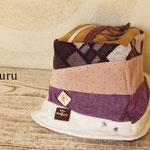 ふわふわ紫のババロアハット (14-au-03-va)