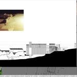 Proyecto Fin de Carrera Arquitectura. Alzado 3